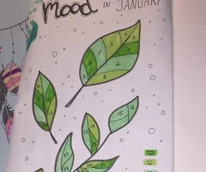 art, green, and mood image
