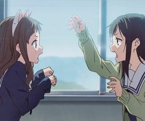 angry, anime, and anime girl image
