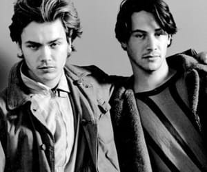 keanu reeves, river, and river phoenix image