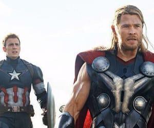 thor, Avengers, and Marvel image
