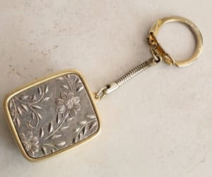 etsy, vintage accessories, and gold and silver image