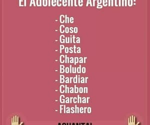argentino, frases, and adolescentes image