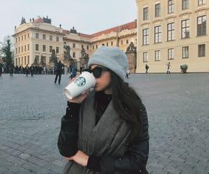 beauty, blogger, and brunette girl image