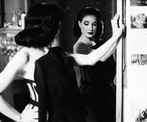black, black and white, and cabaret image
