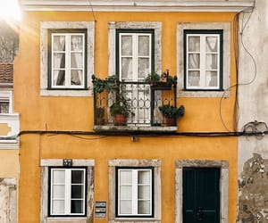 yellow, architecture, and aesthetic image