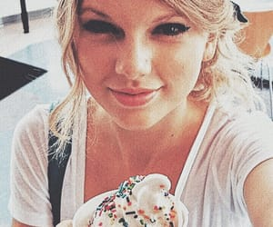 aesthetic, ice cream, and smile image