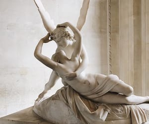 love, art, and angel image