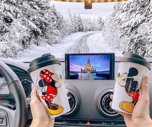 disney and winter image