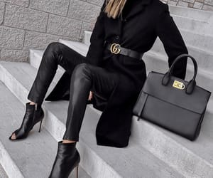 blogger, outfit, and ferragamo image