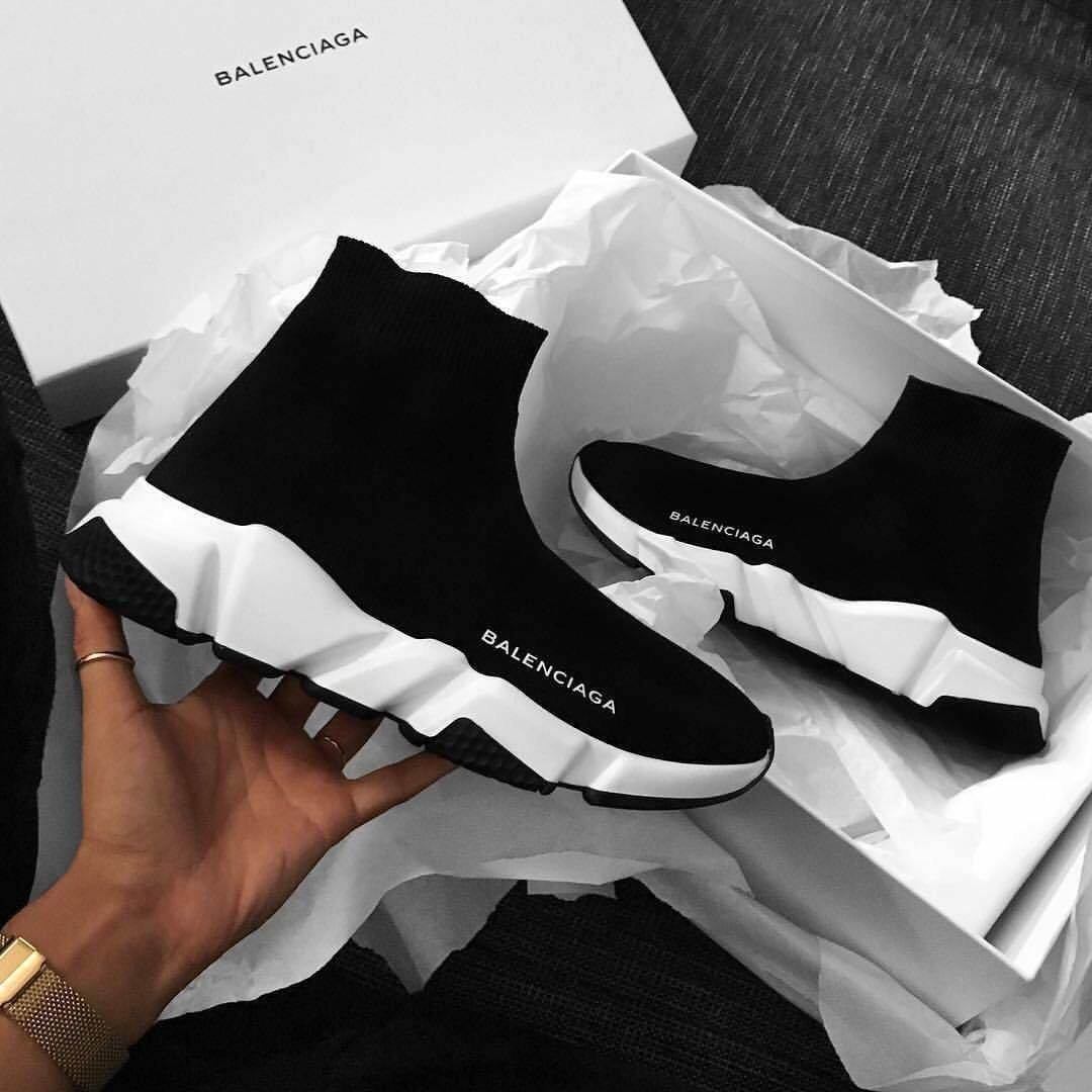 shoes, Balenciaga, and black image