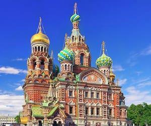 russia, saint petersburg, and church of the savior image