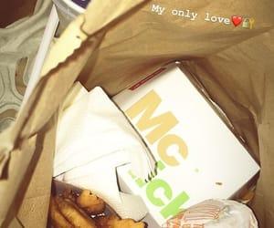 fast food, food, and McDonald's image