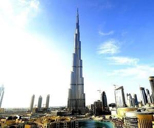 Dubai, united arab emirates, and burj khalifa image