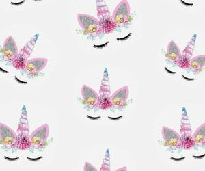 unicorn, pattern, and wallpaper image