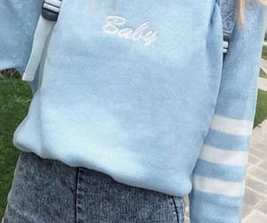 baby, clothes, and blue image