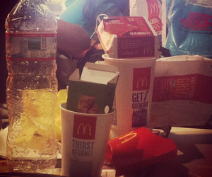 coke, lunch, and nuggets image