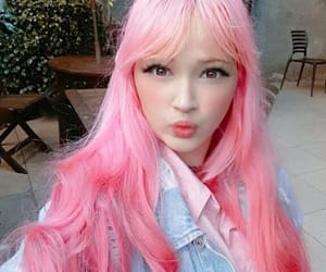 colored hair, goals, and pink image