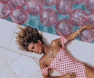 balloons, dots, and pink image