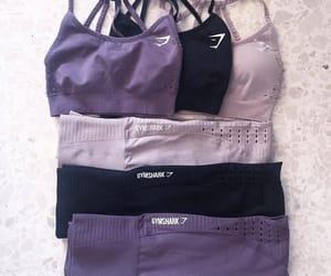 fashion, gym, and leggins image