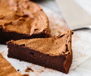 cacao, cake, and chocolate image