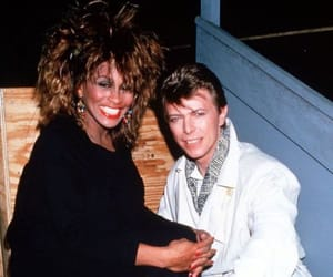 david bowie, legends, and music image