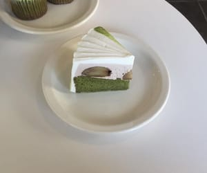 cake, green, and soft image