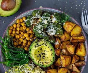 avocado, fit, and food image