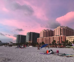 beach, florida, and pretty image