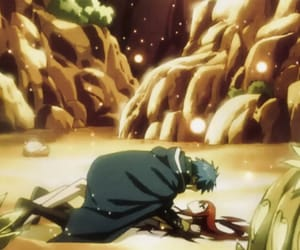 anime, erza scarlet, and jellal image