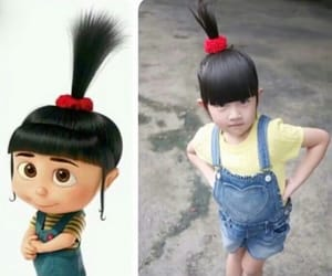 agnes, cosplay, and despicable me image