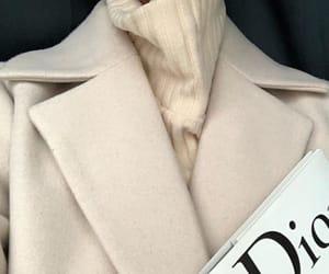 fashion, dior, and coat image