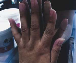 art, hands, and indie image