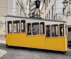 tram, trolly, and transportation image