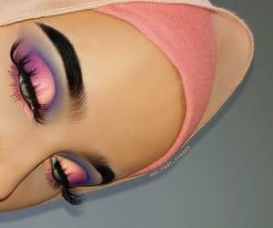beautiful, makeup, and pastel image
