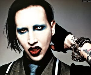 Marilyn Manson, rock, and superstar image
