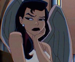 cartoon, angel, and mood image