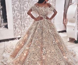 bride, Couture, and fashion image