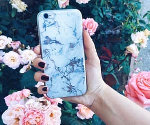 Blanc, electronic, and flowers image