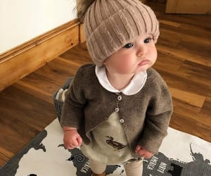 baby, outfit, and child image