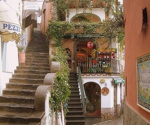 italy, positano, and travel image