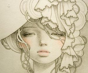 audrey kawasaki, drawing, and art image