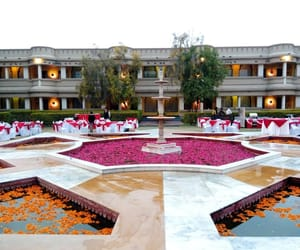 royal palace in rajasthan and luxury hotel in rajasthan image
