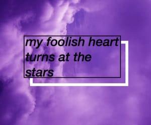 black, hearts, and starts image