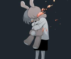 anime, girl, and art boy image