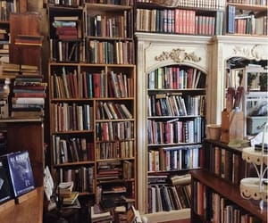 books, cozy, and house image