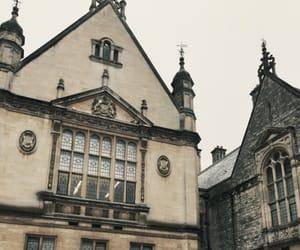 building, vintage, and oxford image