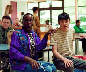eric, gif, and asa butterfield image