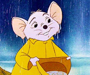 disney, gif, and the rescuers image