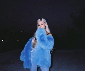 ariana grande, blue, and ariana image