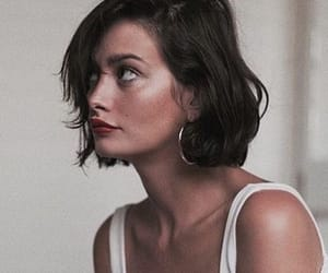 girl, short hair, and model image